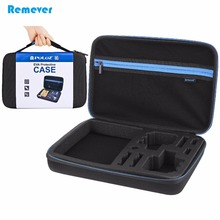 Portable Waterproof Carrying and Travel Case for GoPro Cameras HERO4/3+/3/2/1 Storage Bag Protective Case for Gopro Accessories filtero num 15 pro