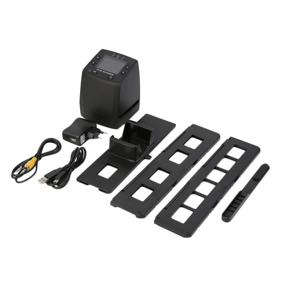 2018 nouveau 5MP 35mm négatif Film visionneuse Scanner USB numérique couleur Photo copieur avec (seule prise ue)