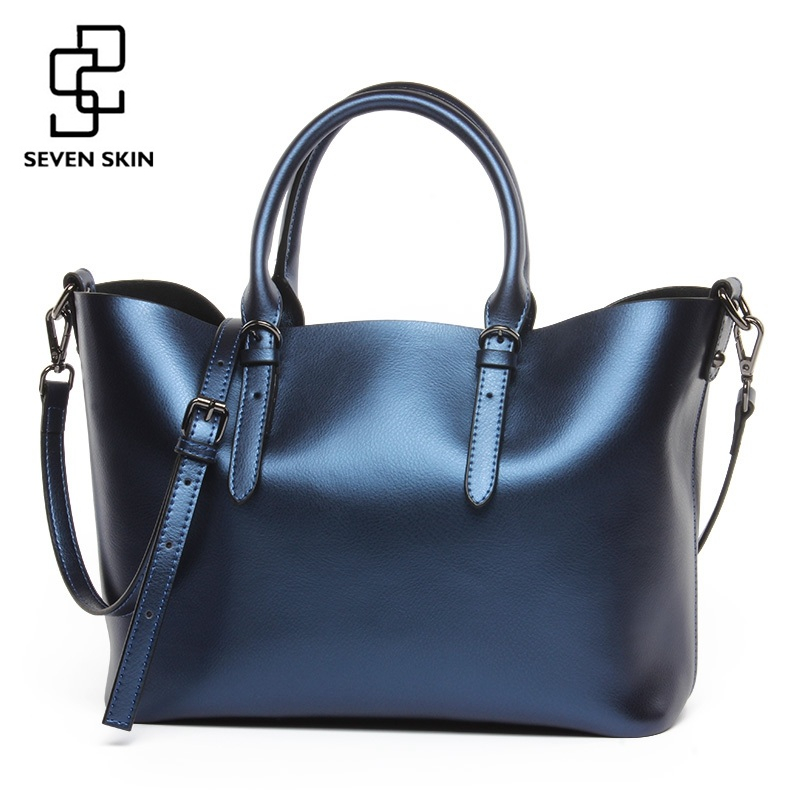 Famous Brand Designer Women Luxury Handbag Genuine Leather Women Large Casual Tote Bags Big Capacity Shoulder Bag Bolsa Feminina