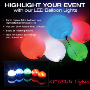 Image 5 - 180pcs/lot Colorful LED Berries Ball Romantic Wedding Christmas Party Decorations Fairy Pearls Balloons Decor Suppliers