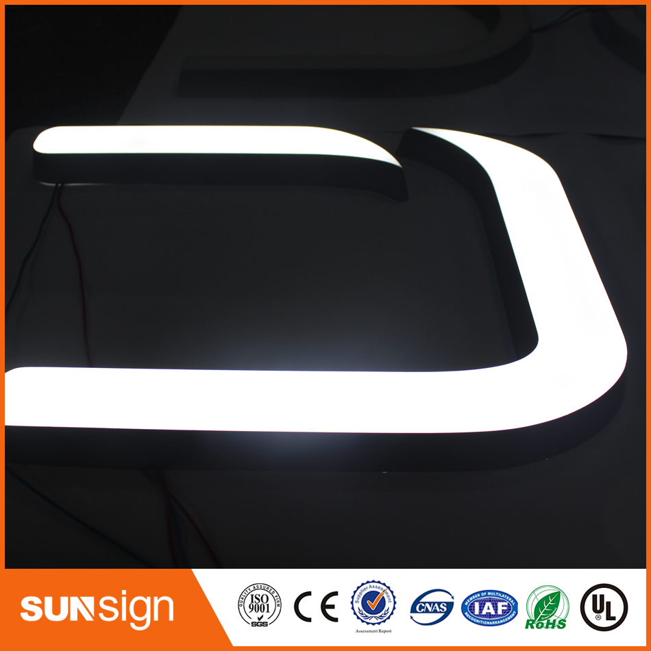 LED Light Illuminated Advertising Sign And Letters