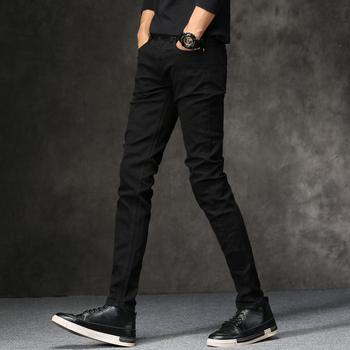 Black Classic Fashion Designer Denim