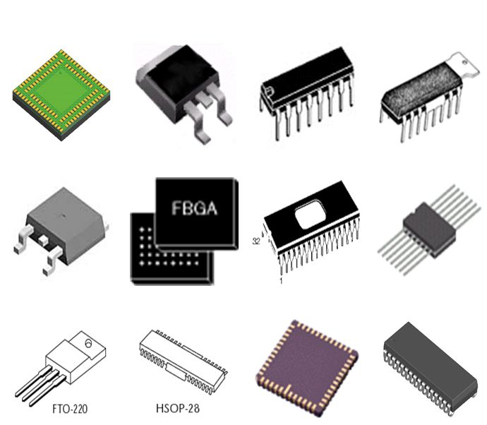 Electronic components New field effect ts