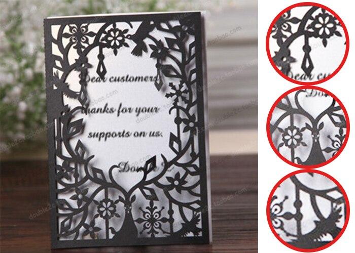 online shop laser cut wedding invitations sets,deer wedding cards, Wedding invitations