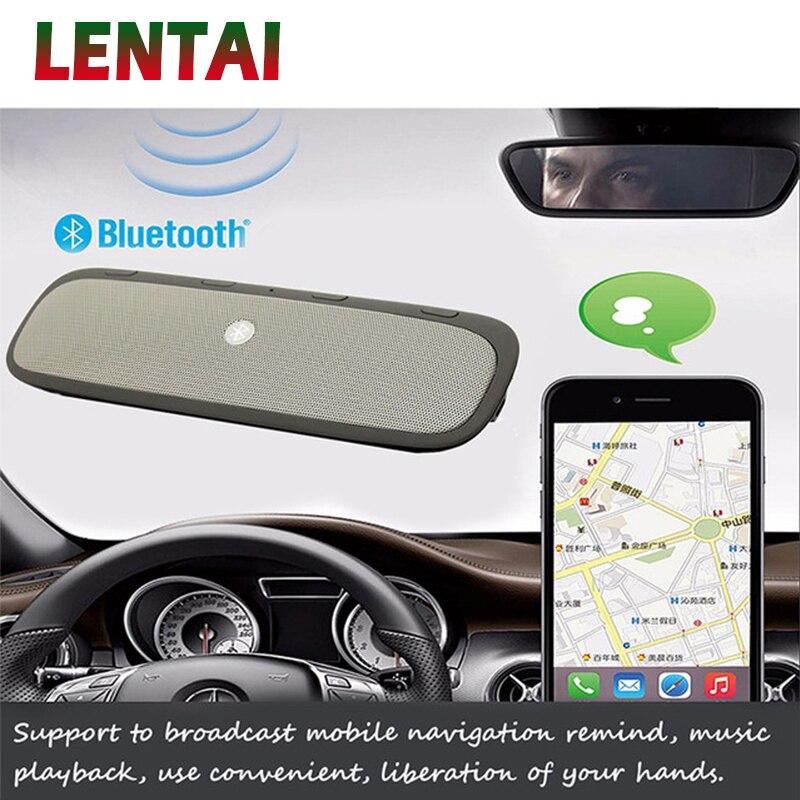 LENTAI 1 Set Kit voiture Bluetooth haut-parleur téléphone sans fil haut-parleur pour Fiat Punto Volkswagen VW Polo Passat B7 B8 Golf 5 6 Tiguan