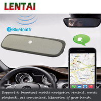 LENTAI 1Set Bluetooth Car Kit Speakerphone Wireless Speaker Phone For Fiat Punto Volkswagen VW Polo Passat B7 B8 Golf 5 6 Tiguan