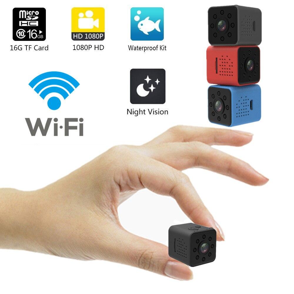 Versión adiestra SQ23 HD WIFI mini cámara cam 1080 P video Sensor de visión nocturna Cámara Micro cámaras DVR movimiento SQ13 SQ 13