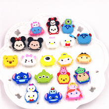 20 PZ TSUM Mickey Minnie paperino Daisy Orso Harajuku Cartoon Spilla Pin Pin Vestiti di Jeans Pins Zaino Broccia Pinbacks(China)