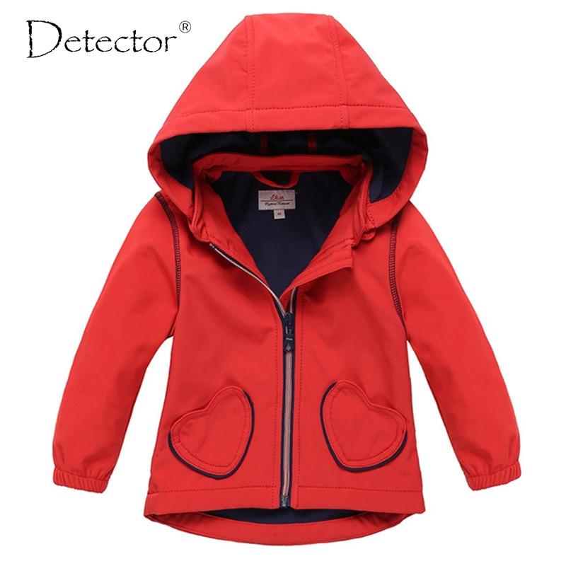 Detektor Baby Girl Softshell Jacket Red 62-92