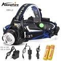 AloneFire HP88 CREE XM-L2 LED USB Headlight HeadLamp Rechargeable Flashlight Torch +Battery/Charger/USB