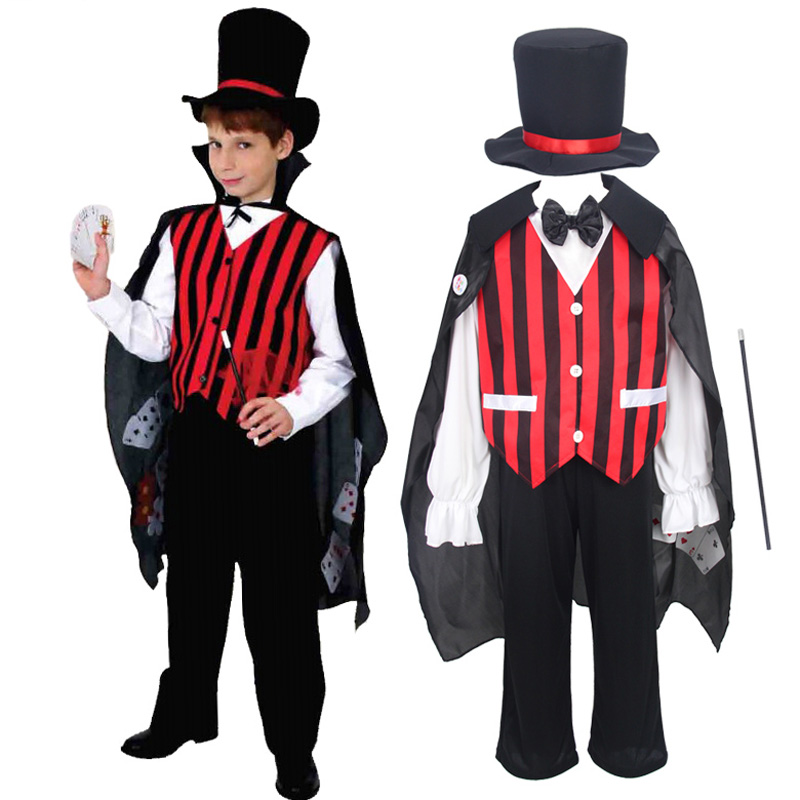 Child Magician Costume Fancy Dress Costume
