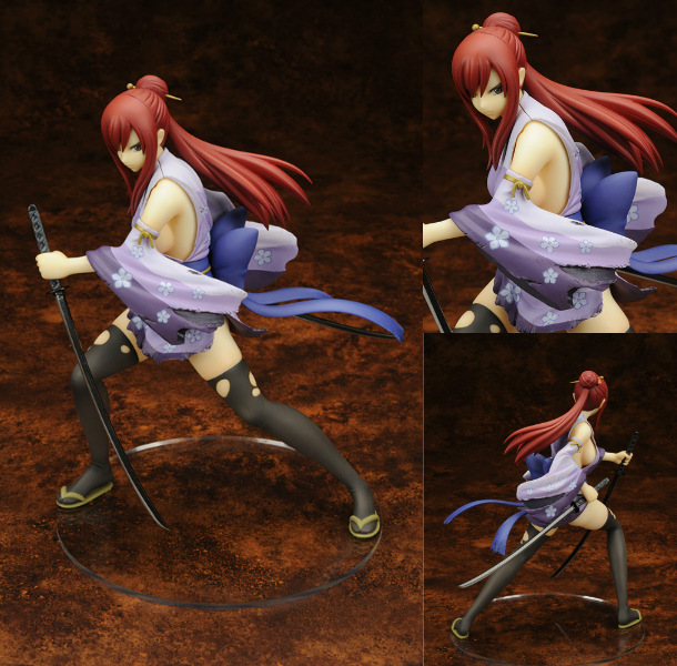 Fairy Tail 2 Edition Erza Scarlet Doll 1/7 scale painted PVC Action figure Sexy Cute Girl collectible Model Toys Anime zxz 23cm anime nisekoi kirisaki chitoge 1 8 cute sexy girl pvc figure toys action figure toys collectible model gifts