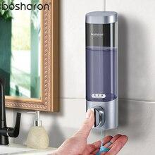 יד נוזל סבון Dispenser וול רכוב 300 ml שמפו סבון ג ל רחצה יד Sanitizer למטבח בית אביזרי אמבטיה