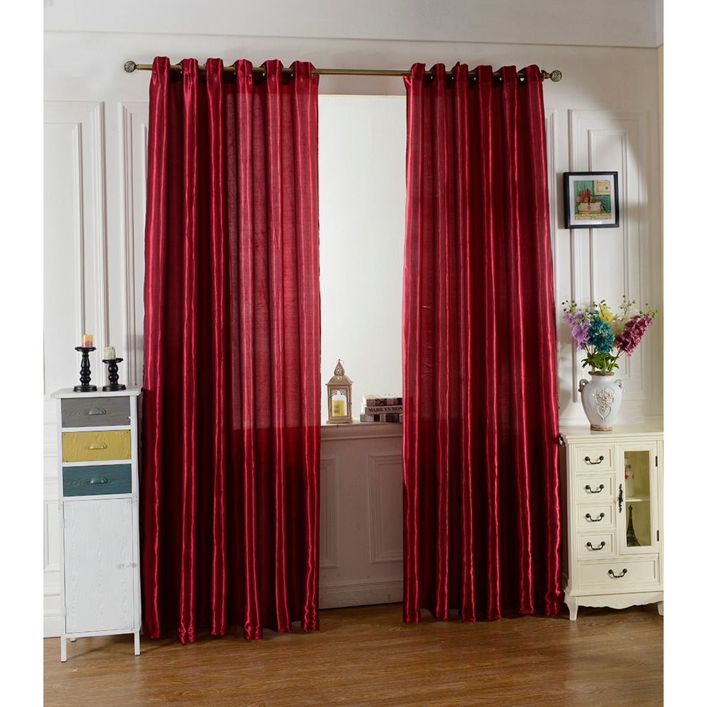 Maroon Curtains For Living Room Compare Prices On Elegant Living Room Curtains Online Shopping