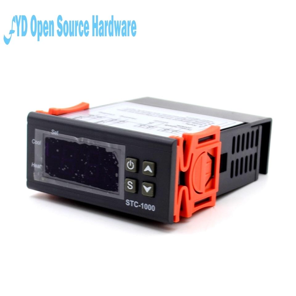 STC-1000 Température Contrôleur STC 1000 Thermostat Aquarium NTC Capteur 220 V