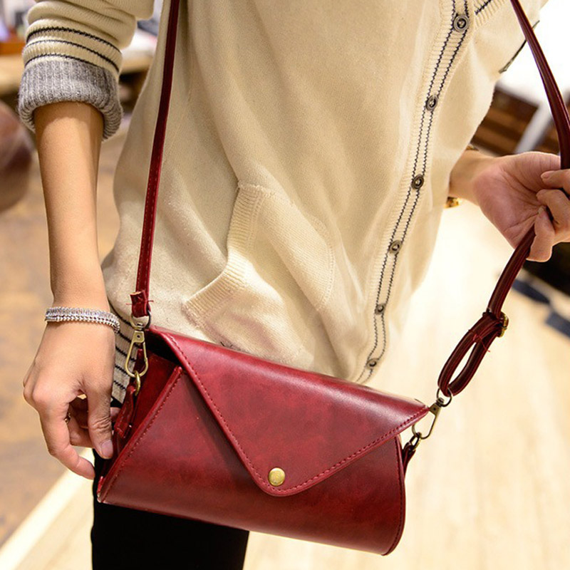 Fashion Women PU Leather Shoulder Bag Tote Purse Handbag Messenger Crossbody Satchel Bags Popular sif women handbag shoulder bags tote purse satchel women messenger bag jun 28