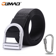 купить Black Metal Buckle Nylon Tactical Belt Military Waist Support Sports Outdoor Hunting Training Camping Combat Army Waistband Men дешево