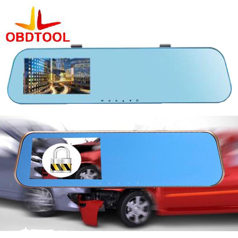 4.3 inch FHD 1080P Double lens Front & Rear Traffic CAR DVR Recorder X10