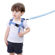 Baby Anti-Lost With Backpack Pu Steel Elastic Children'S Traction Rope Child Anti-Lost Belt Baby Rope Children'S Toddler With rainbow baby 3d model shark kids baby bags waterproof wear resistan with anti lost rope boys girls child s school bags backpack