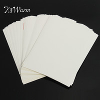 KiWarm 100 Sheets Excellent A4 White Self Adhesive Sticker Label Paper Sheet For Laser Inkjet Printer