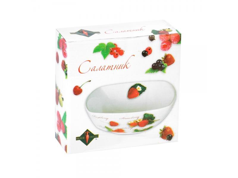 Салатник Polystar Collection, Садовая ягода, 500 мл салатник 16х16х6 см polystar