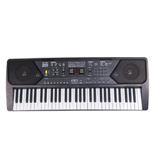 купить 2019 Hot Sale 61 Keys Digital Musical KeyBoard Piano Electronic Key board Organ With Microphone Accessories в интернет-магазине
