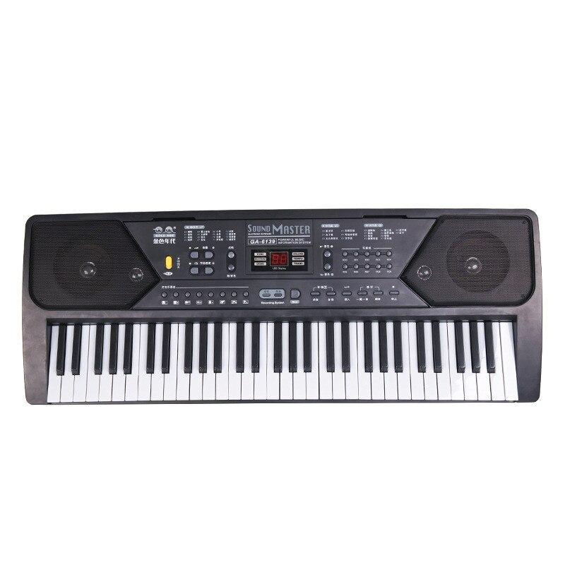 Nouveauté 61 touches clavier Musical numérique Piano électronique clavier orgue avec Microphone accessoires