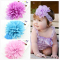 Baby Headbands Crystal Pearl Hair Accessories Stretchy Toddler Newborn Headband