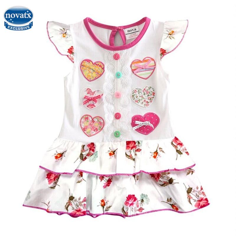 H7032 детские одежда для девочек платье для девочек летнее праздничное платье для девочки-принцессы новинки для детей модная детская одежда п...
