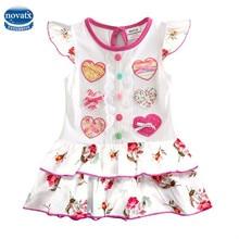 H7032 baby girl clothes girls dress girl summer party princess dress nova kids fashion children clothing dresses for girls 2016