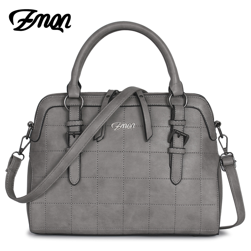 ZMQN Women Leather Handbags Famous Brand Tote Bags With Logo Luxury Handbags Women Bags Designer Hand