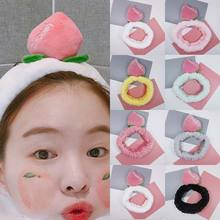 Fashion Letters Wash Face Bathe Hair Holder Comfortable Adjustable Cute 21 Colors Heart 1PC Elastic Headband