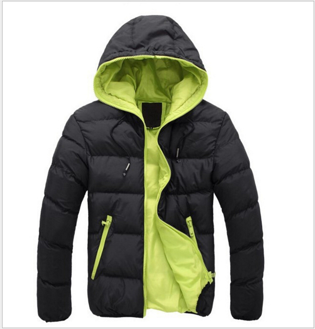 2016 Men Winter Down Jacket Coats Short Thick Overcoats Men's Clothing Feather Dress Winter Jackets Nordic Style Design