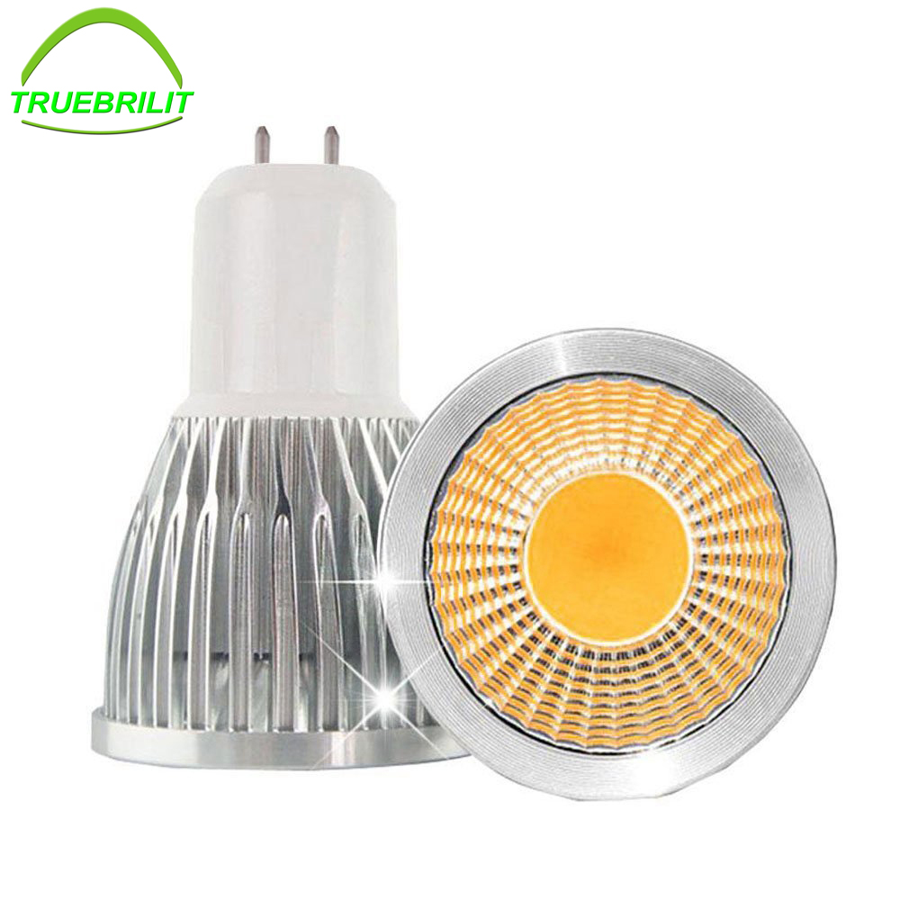 super bright gu10 led bulbs 3w 5w 7w 9w led lamp light gu10 cob dimmable gu