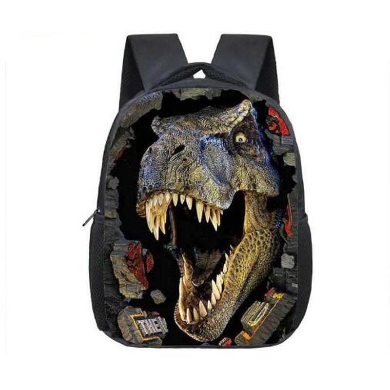 12 Inch Animals Dinosaur Backpacks 3D Dinosaur School Bags Baby Backpack For Children Kids Magic Dragon Kindergarten Bags ancient dinosaur backpack for teenagers magic dragon children school bags animal printing backpack boys girls book bag mochila