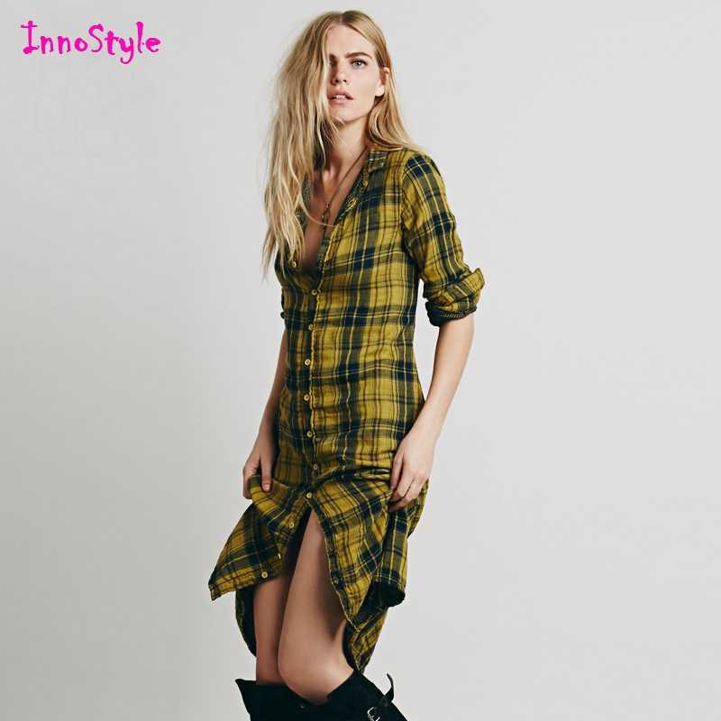 Online buy wholesale red check shirt from china red check for Ladies brown check shirt