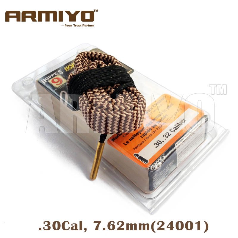 Armiyo Alésage Serpent Bronze Fil. 30,. 32 Cal 7.62mm Sling Nettoyage Cleaner 24001 Chasse