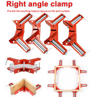 4inch 90 Degree Right Angle Clamp Mitre Clamps Corner Clamp Picture Holder Woodwork Right Angle Clamp Woodworking Hand Tool 100m