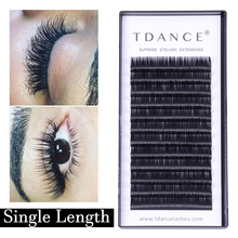fba3982a6f9 TDANCE Professionals Silk Individual Eyelashes Natural Lashes Eyelash  Extension