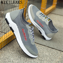 Breathable Shoes Men Summer Mesh Shoes Men Sneakers Mens Casual Shoes Hot Sale Zapatillas Hombre Chaussure Homme Erkek Ayakkabi(China)