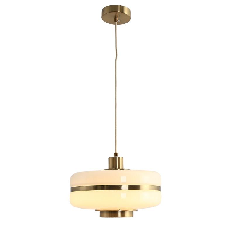 Modern Led Living Dining Room Pendant Lights Suspension: Nordic Glass Pendant Light Round Suspension LED Pendant