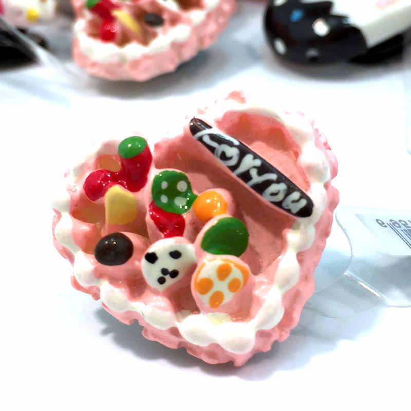 1 pcs Especial Acessórios fit para pulseiras de Resina Encantos Da Sapata Decoração Do Partido Dos Miúdos Meninas Encantadoras Presente Fit cor croc jibz