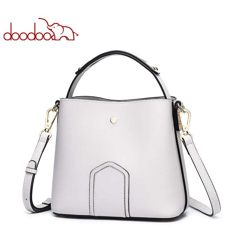 DOODOO Марка Для женщин сумка-мешок Женская плеча Crossbody сумки 2018 из искусственной кожи Волшебный цвет новый топ-ручка сумка