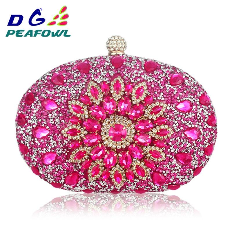 luxury-clutch-chain-bag-woman-wedding-diamond-crystal-floral-blue-red-sling-designer-purse-cell-phone-pocket-wallet-handbags