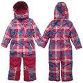 2016 новый стиль topolino Открытый комбинезоны лыжные носить водонепроницаемый мальчиков одежда зима Комбинезон девушки общая ветрозащитный