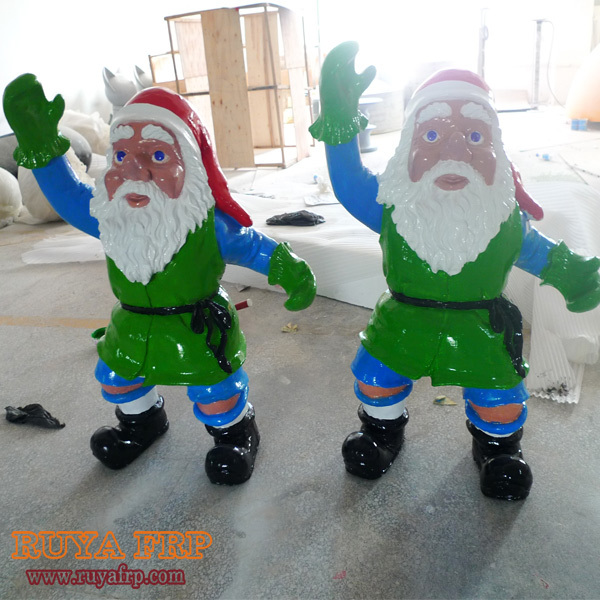 14m height christmas santa claus figurinefiberglass christmas decorations - Fiberglass Christmas Decorations