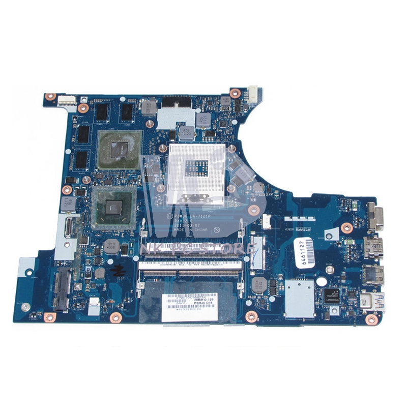 MBRFQ02002 MB.RFQ02.002 For Acer aspire 3830 3830TG Laptop Motherboard LA-7121P HM65 DDR3 GT540M Discrete graphics