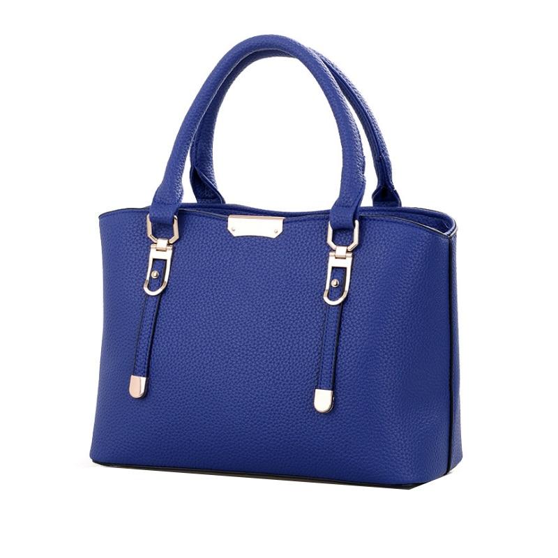 Homeda Pu Shoulder Bag Solid Simple Woman Modern Shoulder Bag Shopping/Party/Date Ladies Bolsos Bandolera Mujer Q-103 xyx q simple