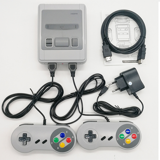 8 Bit Super Mini HDMI Family TV SNES Video Game Console Retro Classic HDMI HD Output TV Handheld Game Player Built-in 621 Games