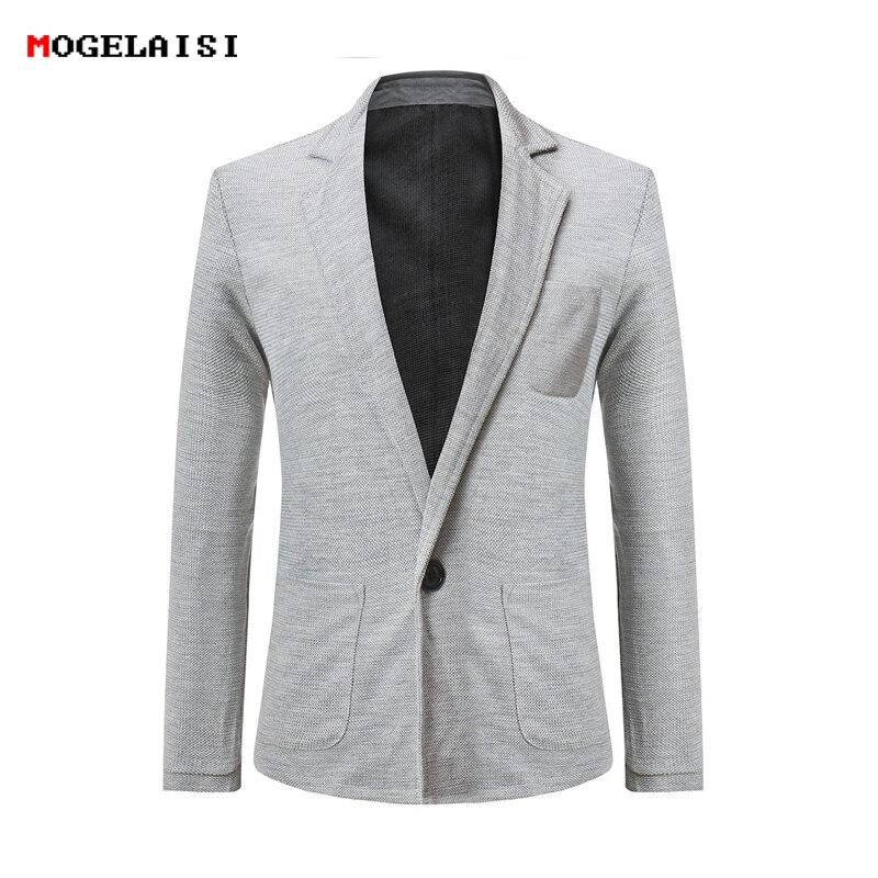 New 2018 autumn linen jacket Chinese folk style Pankou Casual Linen cotton Jacket Solid Slim Thin